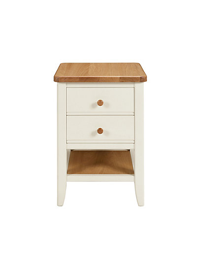 Cream Bedside Tables: Winchester Bedside Chest - Cream