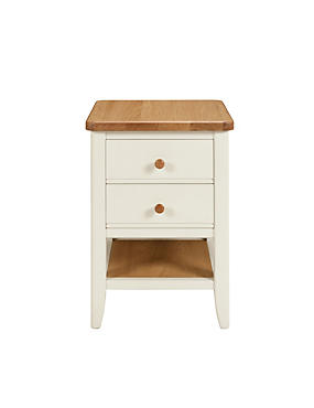 Winchester Bedside Chest - Cream