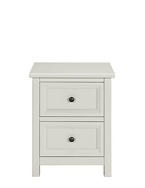 Dawson Bedside Grey Drawer Chest