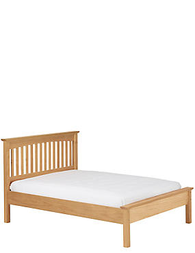 Hastings Light Natural  Bed Stead, NATURAL, catlanding