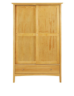 Hastings Natural Sliding Wardrobe