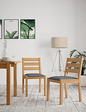 Set of 2 Sonoma Dining Chairs
