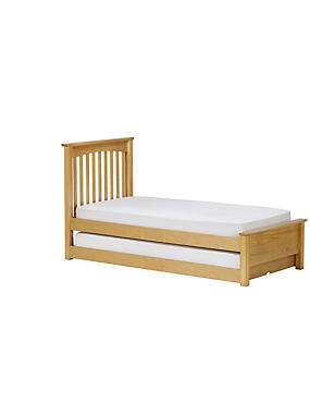 Hastings Natural Pine Children's Guest Bed