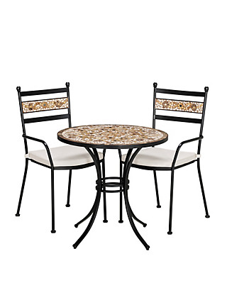 Verona Dining Table & 2 Chairs Furniture