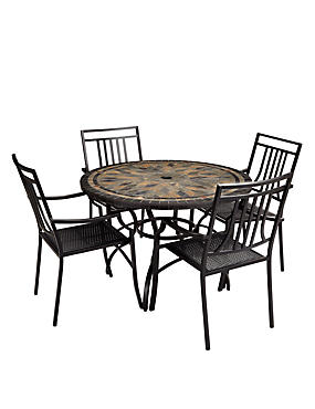 Venice Table & 4 Chairs
