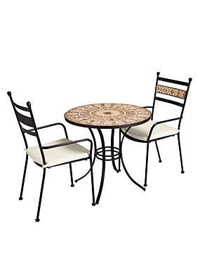 Petra Table & 2 Chairs - M&S