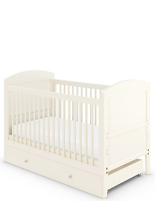 Hastings Ivory Cot Bed Furniture