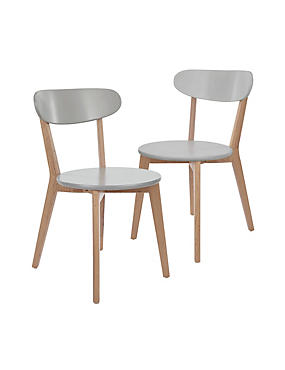2 Bradshaw Chairs - Self Assembly