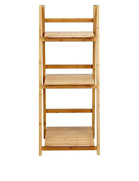Nagoya Folding Shelving Low Natural