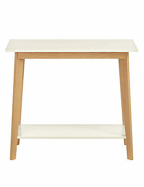 Bradshaw Console Table White