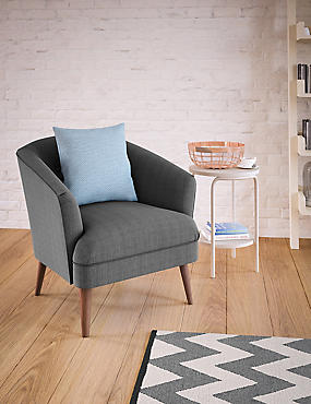 Benni Armchair Soljen Charcoal - Self Assembly