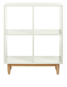 Alto Painted Low Book Case Grey