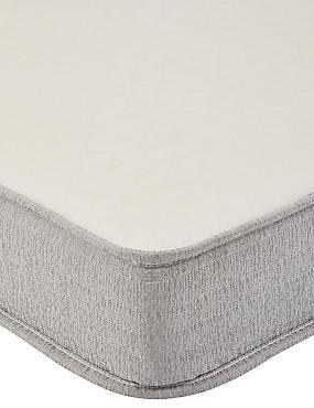 Express Rolled Foam Mattress, WHITE, catlanding