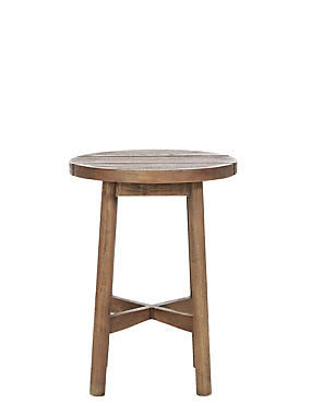 Capri Teak Side Table, , catlanding