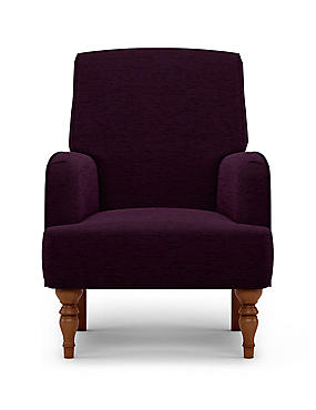 Denford Occasional Armchair Meredith Plum