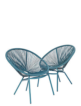 Express Lois Set of 2 Chairs