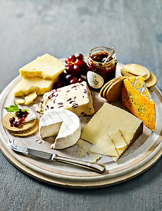 Cheese & Chutney Selection Food