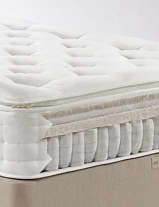 Natural 1500 Pillow Top Mattress - Medium Support - 7 Day Delivery* Furniture