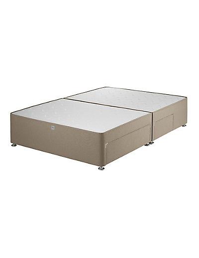 Classic sprung 2 2 drawer divan m s for Divan vintage