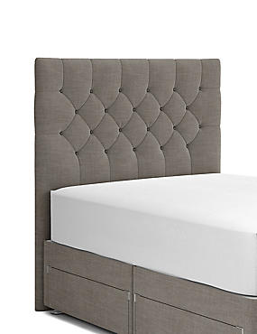 Deep Button Headboard