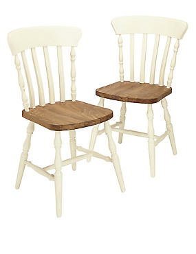 2 ashby dining chairs. Black Bedroom Furniture Sets. Home Design Ideas