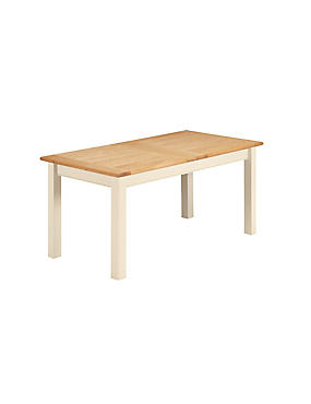 Padstow Ext Dining Table Cream