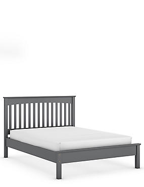 Hastings Bed Dark Grey