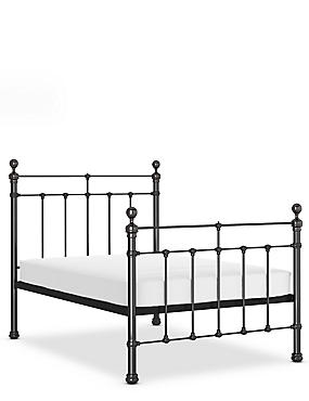 Castello Gunmetal Bed, GUNMETAL, catlanding