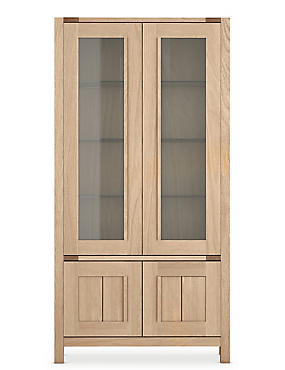 Sonoma™ Blonde 2 Doors Glazed Unit, , catlanding