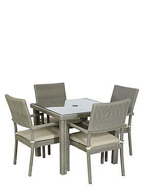 Marlow Square Table & 4 Chairs, , catlanding