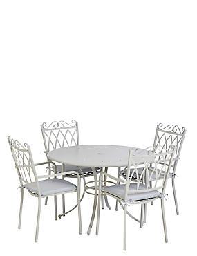 Rosedale Table & 4 Chairs, , catlanding