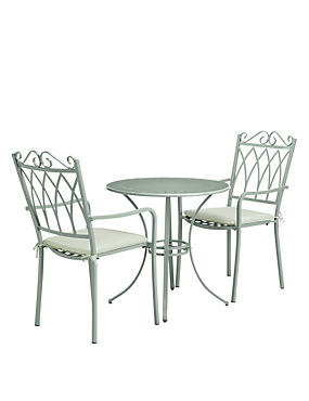 Rosedale Table & 2 Chairs Sage
