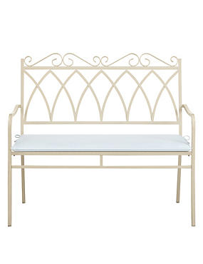 Rosedale Bench - Cream