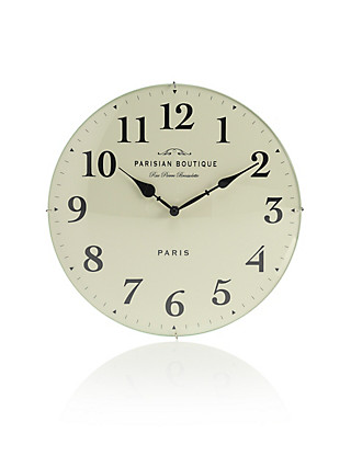 Parisian Wall Clock Home