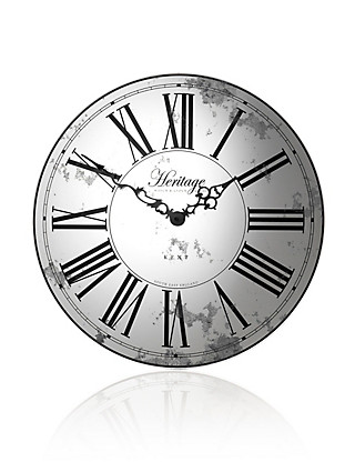 Heritage Wall Clock Home