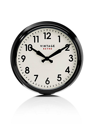 Vintage Style Station Wall Clock Home