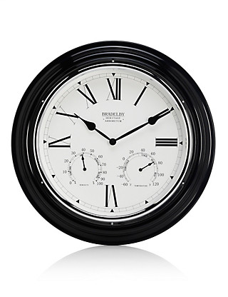 Large Outdoor Wall Clock Home