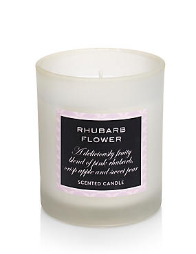 Rhubarb Filled Candle