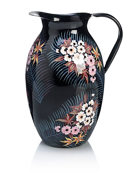 Rio Bird of Paradise Print Jug