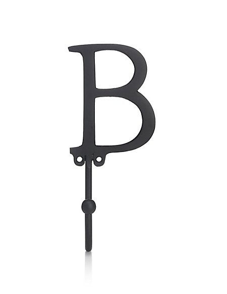 Alphabet B Door Hook