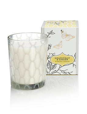 Grapefruit And Ginger Boxed Candle