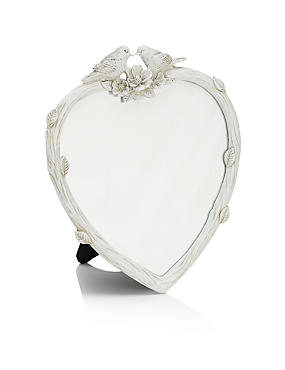 Heart Bird Photo Frame 14 x 14cm (5.5 x 5.5inch)
