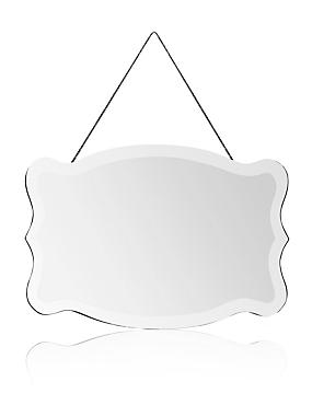 Scallop Frame Mirror
