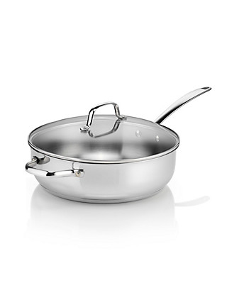 28cm Stainless Steel Sauté Pan Home