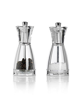 2 Salt & Pepper Mill Set