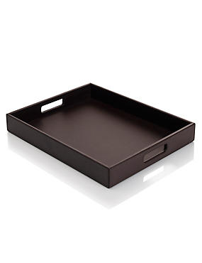Bonded Leather Tray
