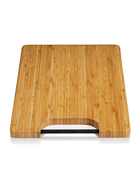Bamboo Chopping Board with Silicon Rod Handle