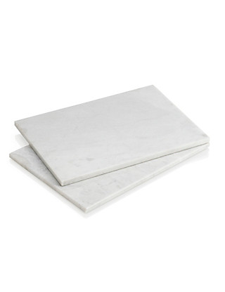 2 Marble Placemats Home