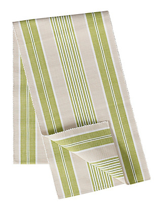 Striped Table Runner Home