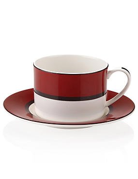 Manhattan Cup & Saucer Set
